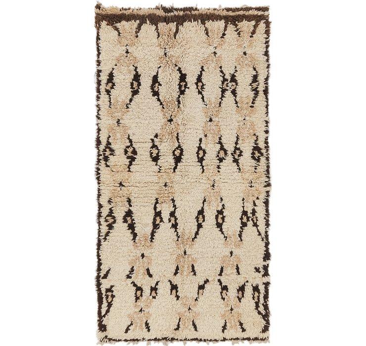 2' 10 x 5' 9 Moroccan Rug