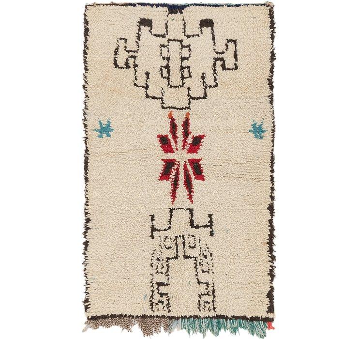3' 4 x 5' 6 Moroccan Rug
