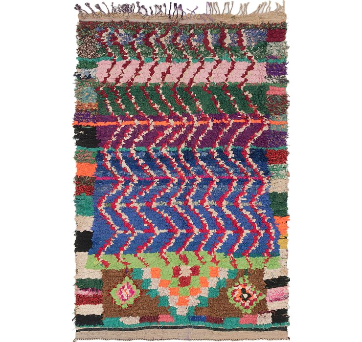 4' 2 x 6' 5 Moroccan Rug