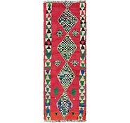 Link to 3' 10 x 11' Moroccan Runner Rug