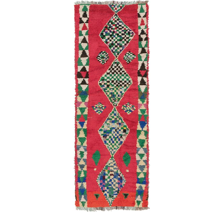 3' 10 x 11' Moroccan Runner Rug