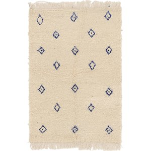 HandKnotted 3' 3 x 4' 8 Moroccan Rug