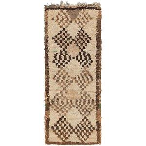 2' 7 x 6' 7 Moroccan Runner Rug