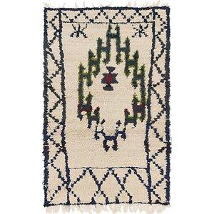 Unique Loom 3' x 4' 10 Moroccan Rug