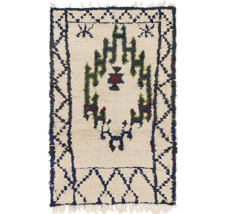 3' x 4' 10 Moroccan Rug