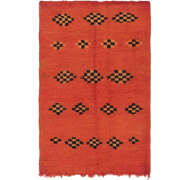4' x 6' 2 Moroccan Rug