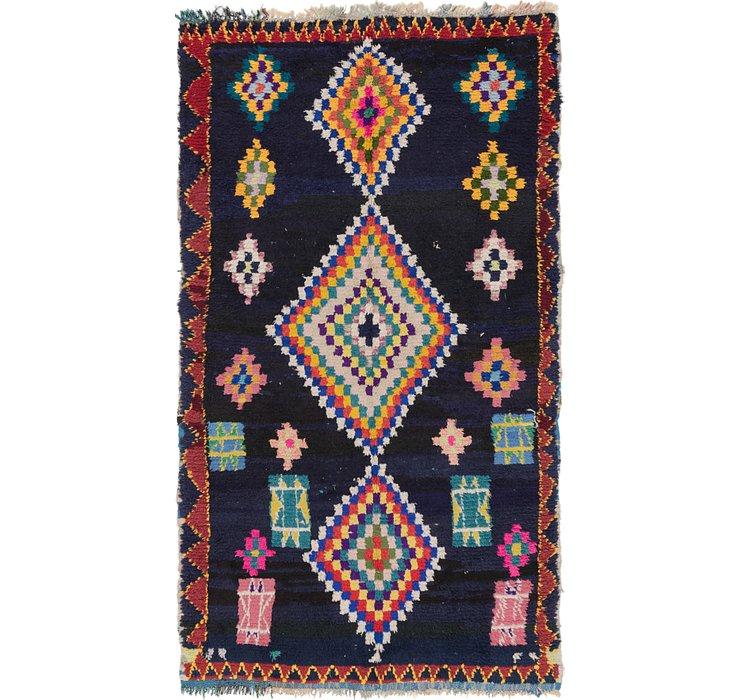 5' x 8' 9 Moroccan Rug