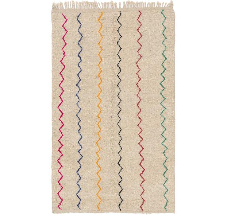 5' 2 x 8' 5 Moroccan Rug