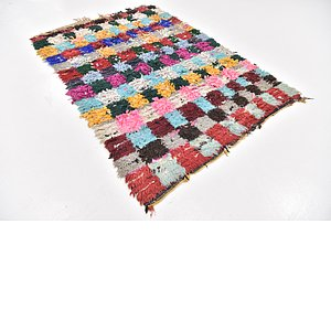 Unique Loom 4' 10 x 7' Moroccan Rug