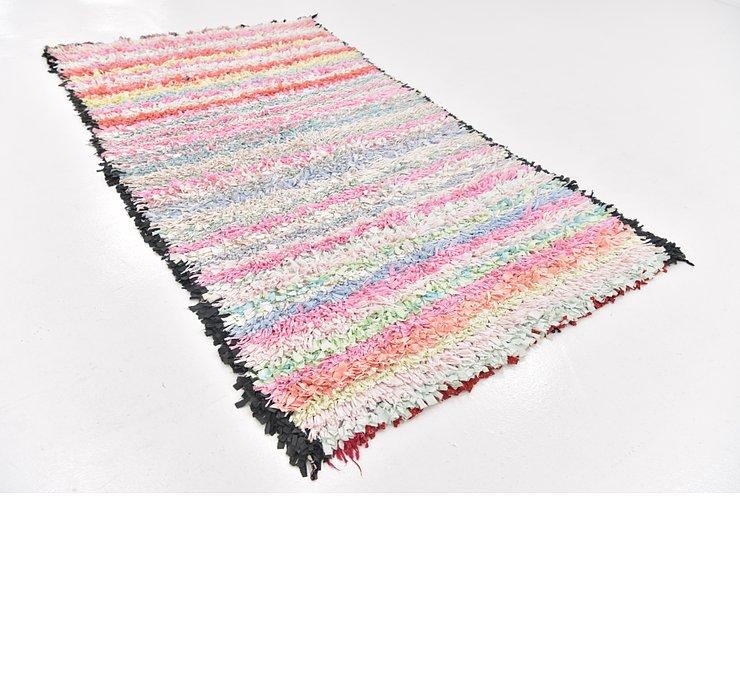 4' 6 x 8' Moroccan Rug