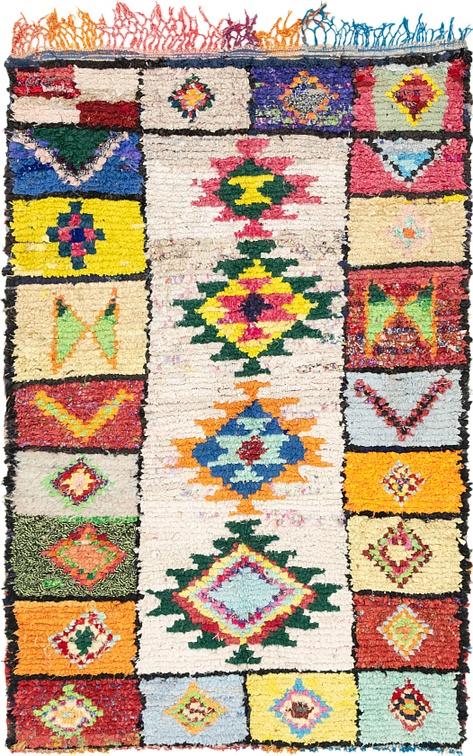 Multi  5' x 8' Moroccan