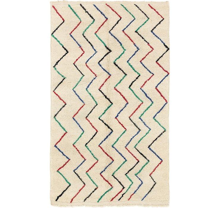 5' x 8' 5 Moroccan Rug