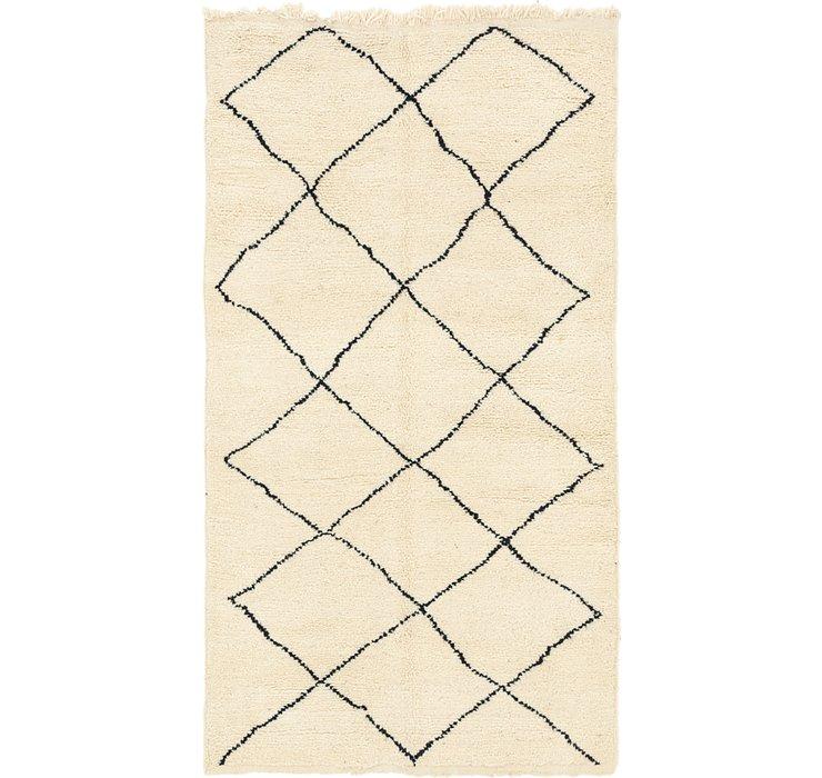 4' 10 x 8' 3 Moroccan Rug