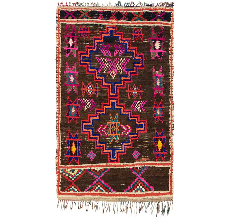 4' 10 x 8' Moroccan Rug