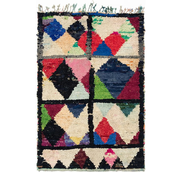 5' 3 x 8' Moroccan Rug