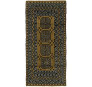 Link to 3' x 6' 5 Afghan Akhche Runner Rug