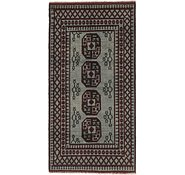 Link to 3' 5 x 6' 8 Afghan Akhche Runner Rug
