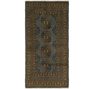 Link to 100cm x 198cm Afghan Akhche Runner Rug