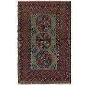 Link to 105cm x 160cm Afghan Akhche Rug