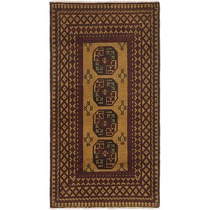 Link to 102cm x 188cm Afghan Akhche Runner Rug item page