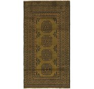 Link to 102cm x 188cm Afghan Akhche Runner Rug