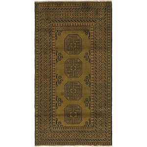 Link to 3' 4 x 6' 2 Afghan Akhche Runner Rug item page