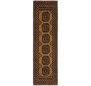Link to 2' 7 x 9' 8 Afghan Akhche Runner Rug