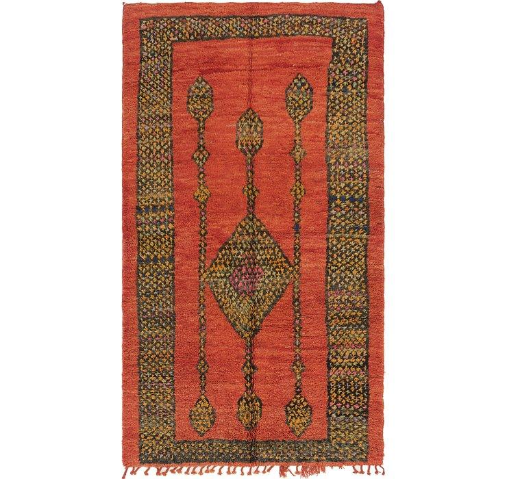 6' 3 x 11' 3 Moroccan Runner Rug