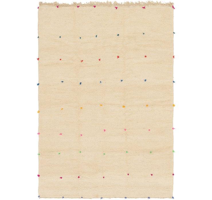 6' 10 x 9' 10 Moroccan Rug