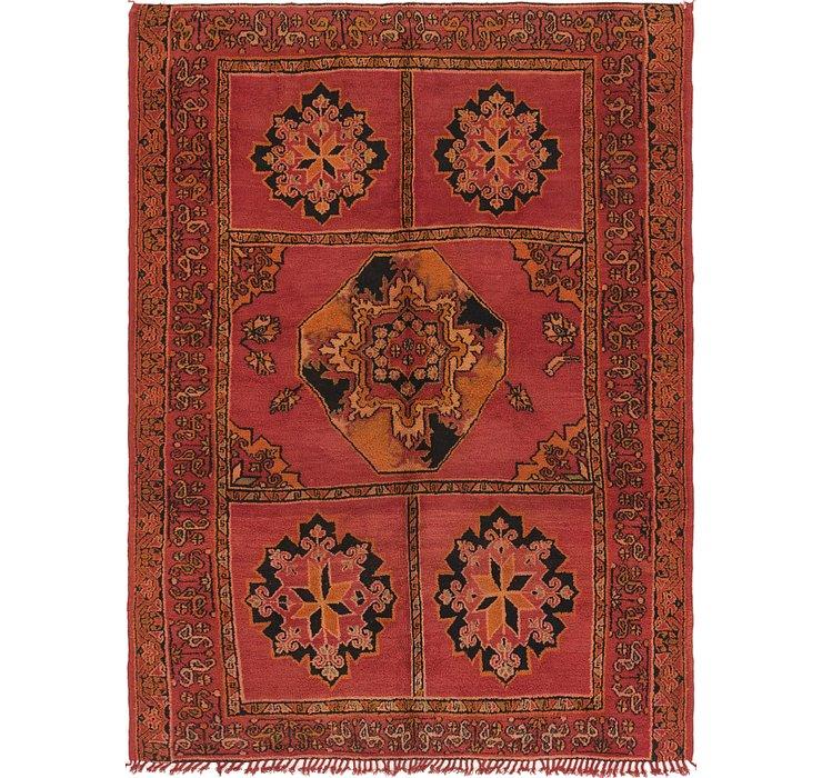 6' 7 x 9' 2 Moroccan Rug