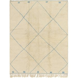 HandKnotted 8' 4 x 10' Moroccan Rug