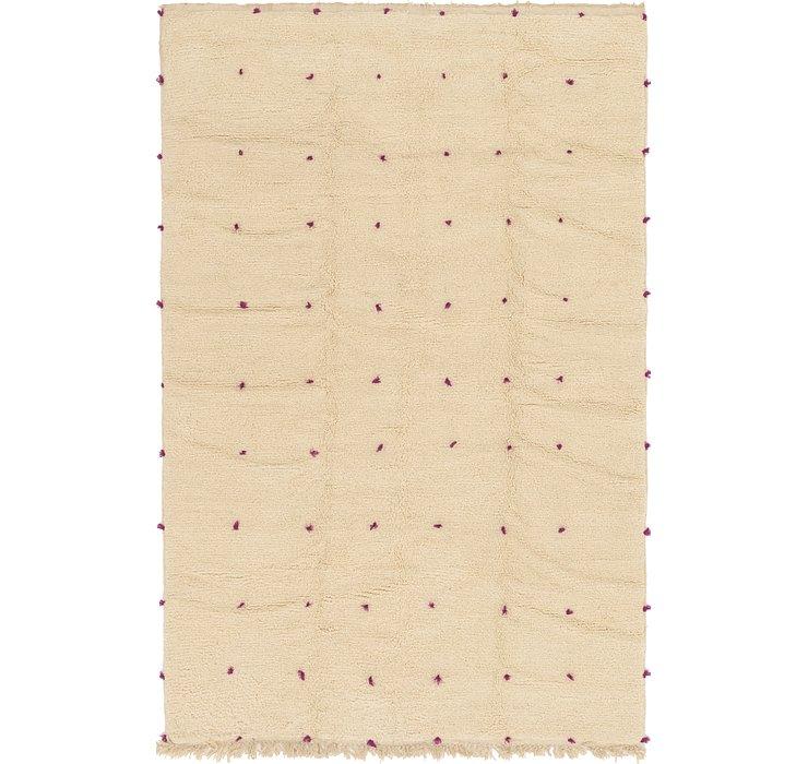 6' 5 x 10' 3 Moroccan Rug