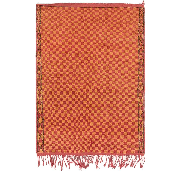 3' 7 x 5' 2 Moroccan Rug