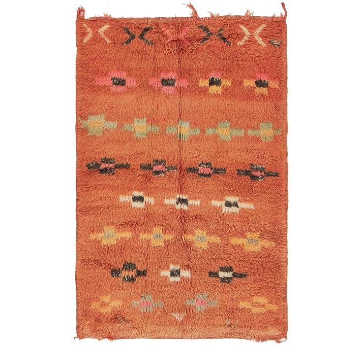 3' 6 x 5' 8 Moroccan Rug