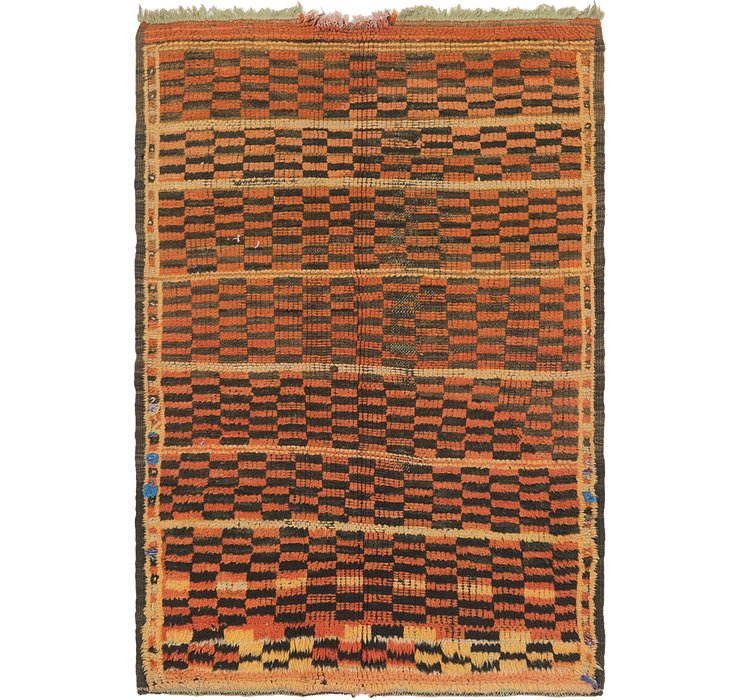117cm x 175cm Moroccan Rug