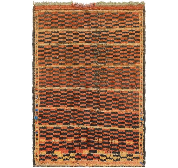 3' 10 x 5' 9 Moroccan Rug