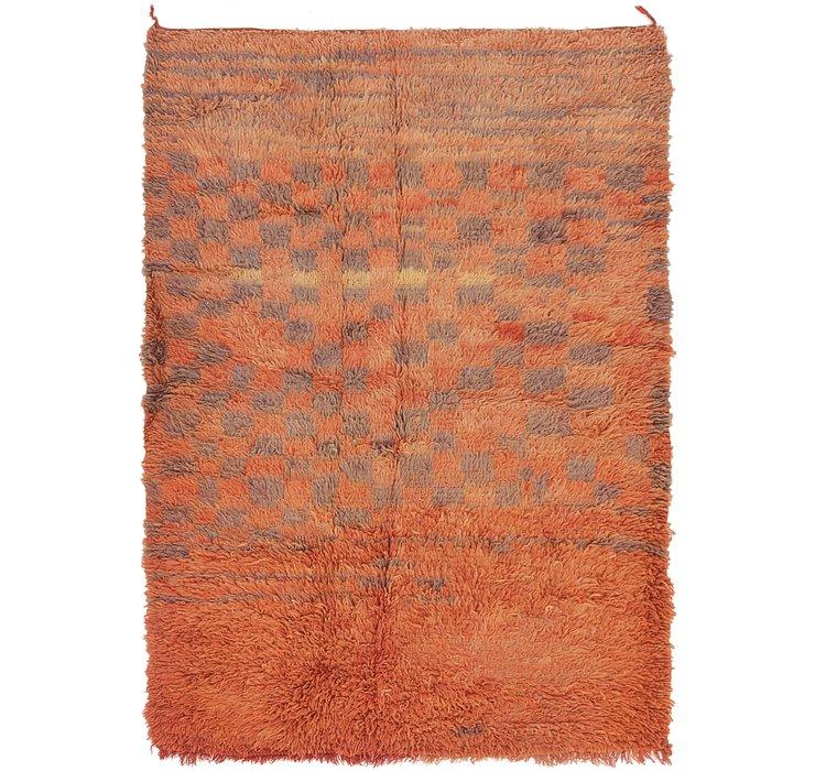4' x 6' 3 Moroccan Rug