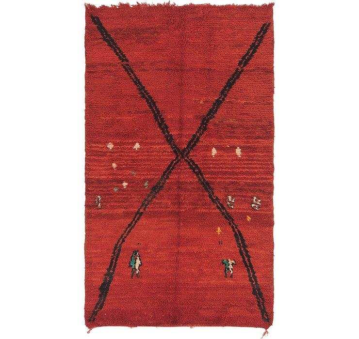3' 10 x 6' 7 Moroccan Rug