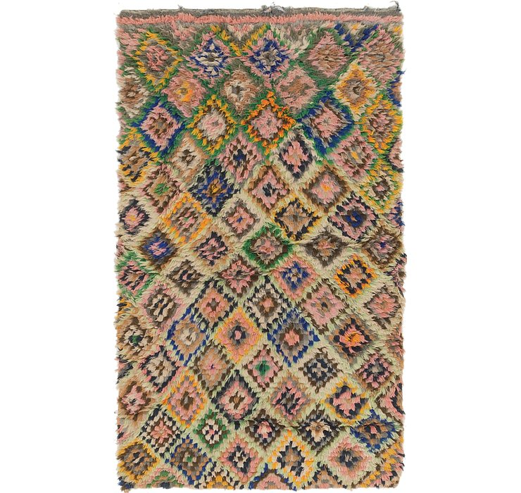 HandKnotted 3' 3 x 5' 6 Moroccan Rug