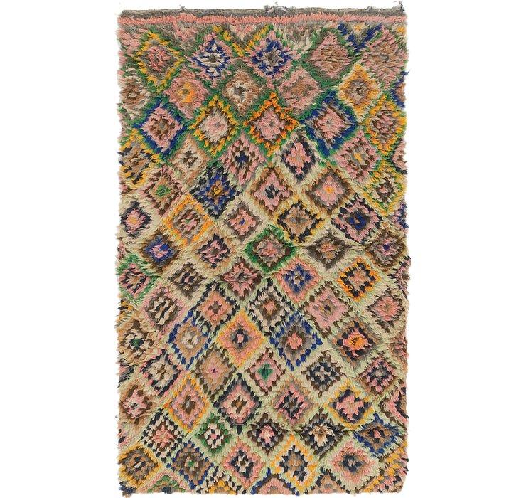 3' 3 x 5' 6 Moroccan Rug