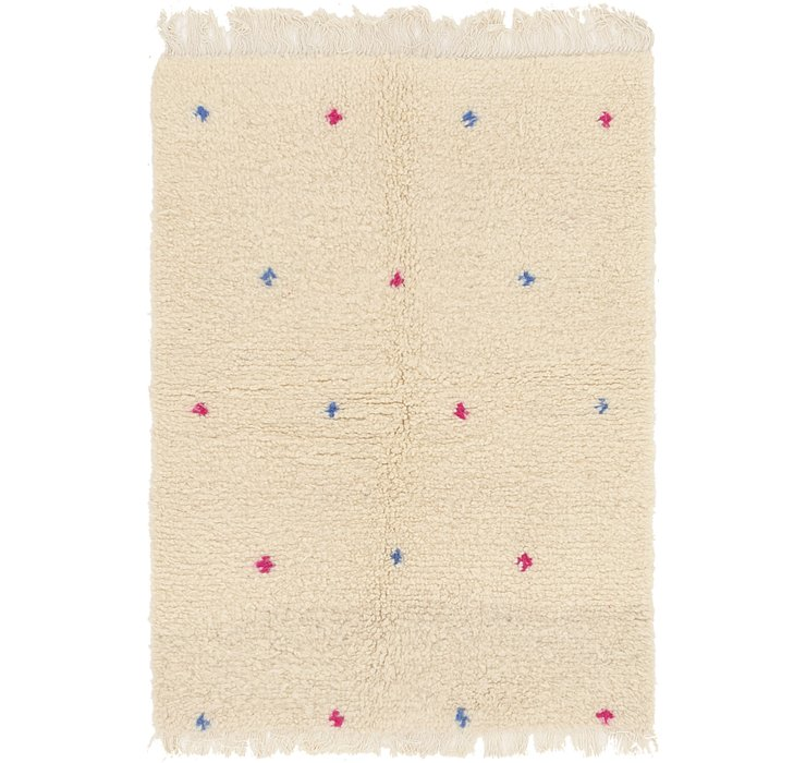 3' 3 x 4' 6 Moroccan Rug
