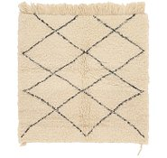 Link to 3' 7 x 3' 8 Moroccan Square Rug
