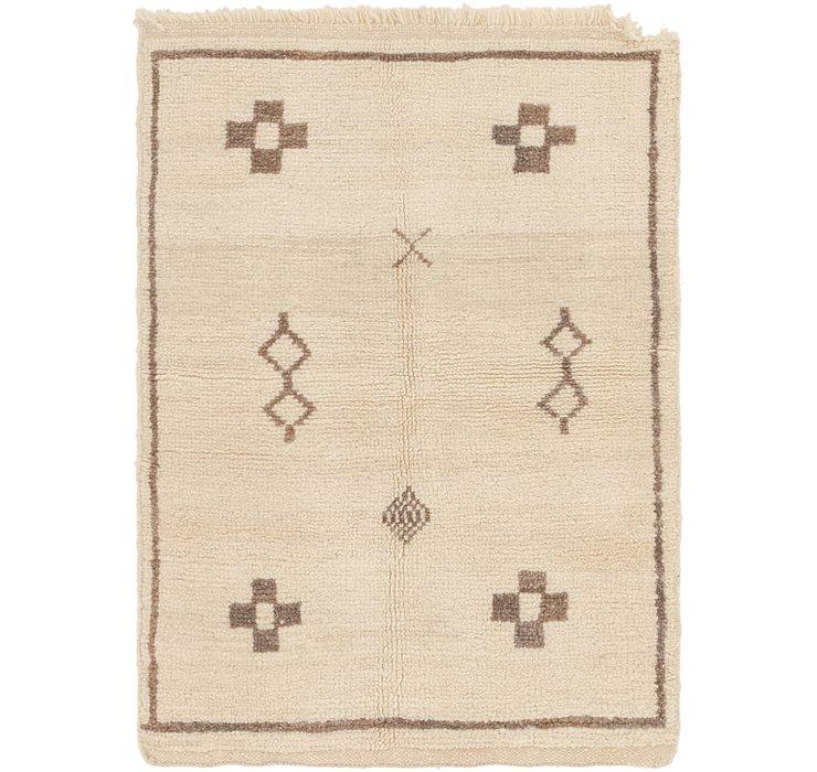 3' x 4' 2 Moroccan Rug