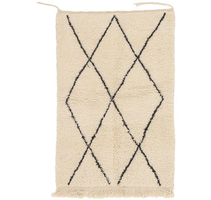 3' 2 x 4' 9 Moroccan Rug