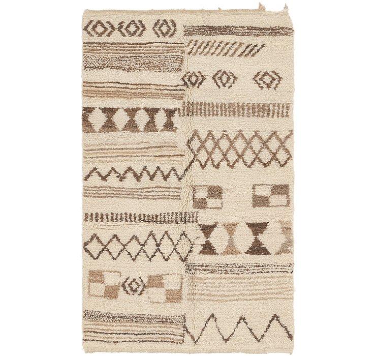 3' 5 x 5' 6 Moroccan Rug