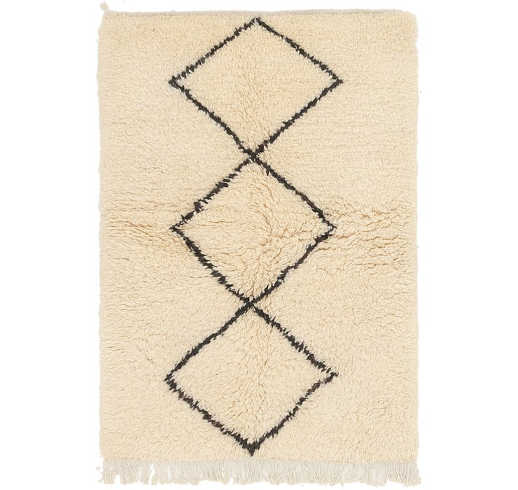 3' x 4' 4 Moroccan Rug