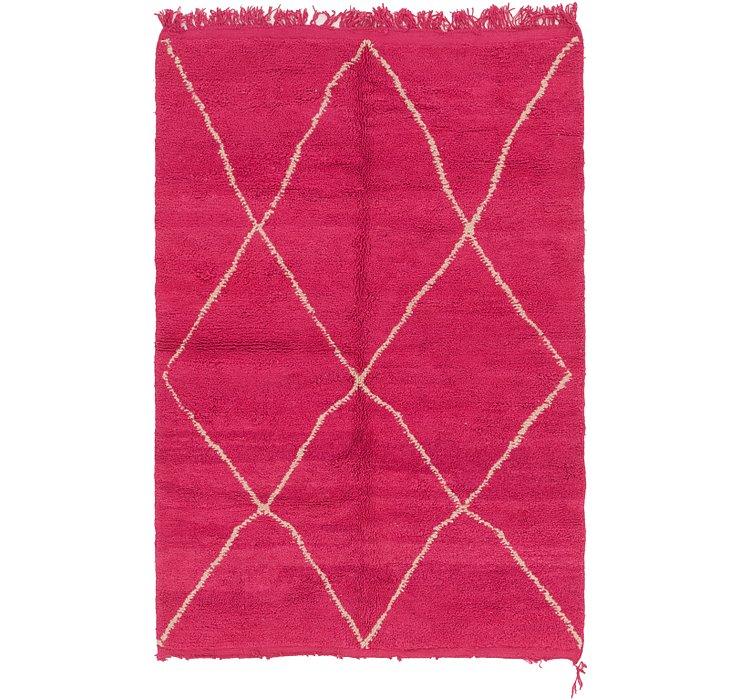 5' 3 x 8' 4 Moroccan Rug