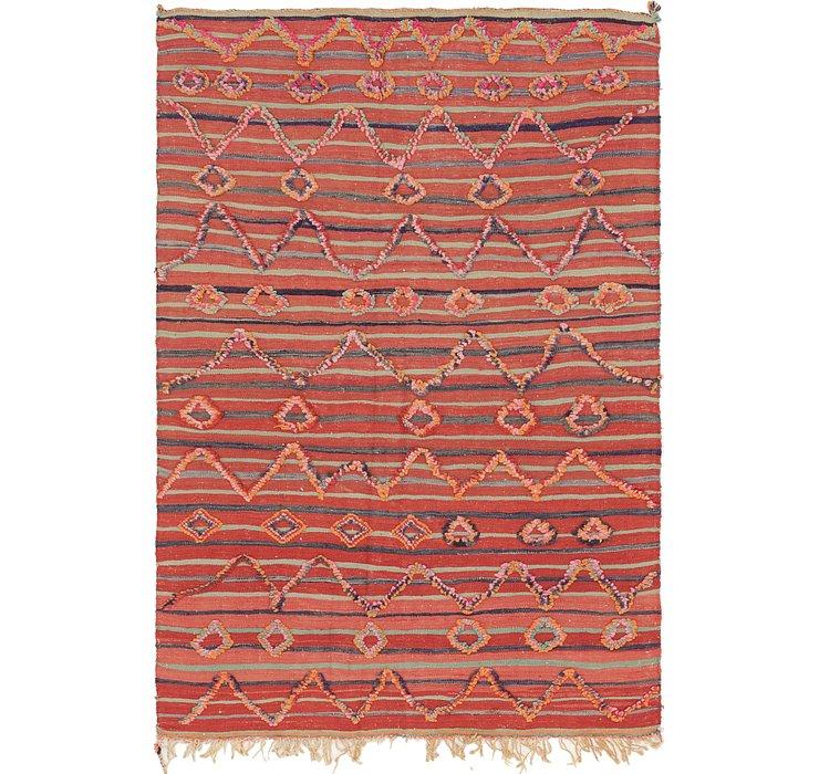 4' 7 x 7' Moroccan Rug