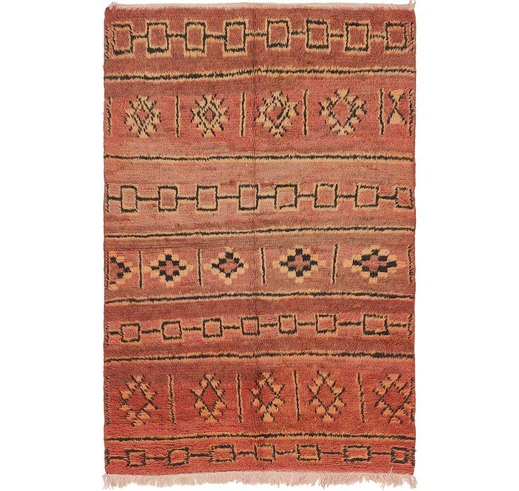 4' 4 x 6' 10 Moroccan Rug