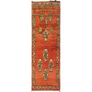 3' x 9' 5 Moroccan Runner Rug